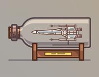 Spaceships in Bottles
