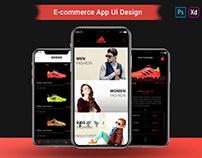 E-Commerce Mobile App UI Design