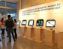 Exposición Mapeando la Ciencia