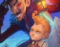 Illustration for The Monster Artbook
