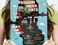 Fashion Week Map Illustration