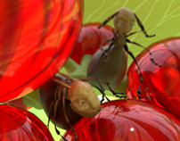 The brave ant
