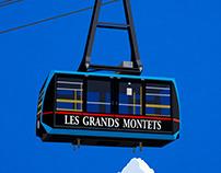 Argentiere Ski Resort Poster