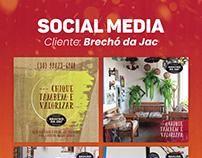 Social Media: Brechó da Jac