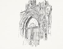 Sketching Aix-en-Provence