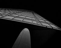 The Light.  Fine Art Black and White Architecture