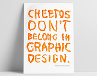Cheetos Don't Belong in Graphic Design