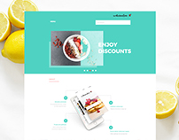 Web and App design. 'Watermelon - best restaurants