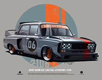 LADA 2106 time attack
