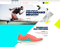 Skechers Website Pitch