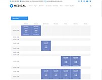 Timetable Alt - Medical WordPress Theme