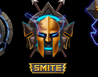 SMITE Icons and achievements