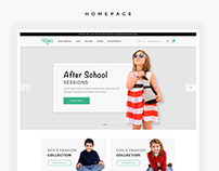 Kidos - Kids Clothing eCommerce Template