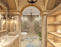 Eastern stlyle bathroom design