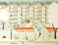 VILLAGE SAINT-MARTIN - Storefronts of Paris