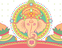 Ganesha - Wedding Card