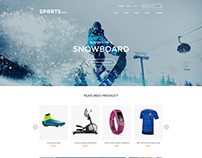 Winter Sports & Outdoors Shopify Theme