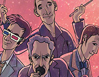 Doctor Who Band Illustration