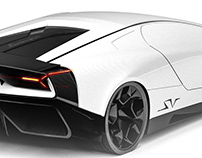 Lamborghini Pura SuperVeloce Concept 2022