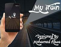 My Train - Mobile App Design