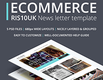 Ecommerce - Newsletter Template