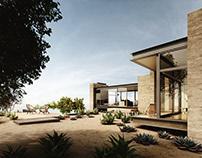Visualization | Saddle Peak House | Exterior