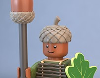 Acorn Warrior