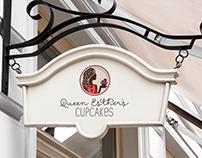 Queen Esther's Cupcakes Logo