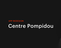 Centre Pompidou - App Redesign Concept