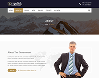 Republik - Government WordPress Theme