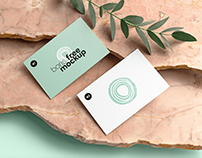 Free PSD Thick Business Cards Mockup