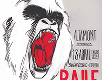 Baile Rock Altamont - Abril 2015