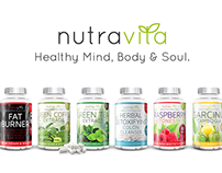 New brand & package design for Nutravita Supplements