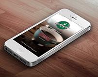 Coffeesta Mobile App UI Design