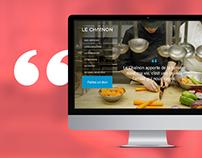 Refonte du site Web de l'organisme Le Chaînon