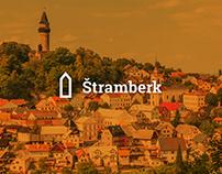 The city of Štramberk — logo concept