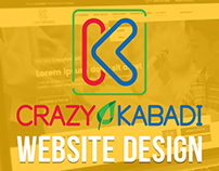 Crazy Kabadi Website Design