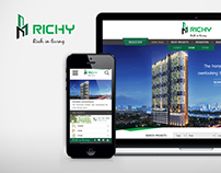 Richy: The real estate company Web Design
