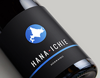 Hana Ichi Sake Label Design