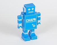 Desarrollo de Paper Toy para Chapa Objetos Inobjetables
