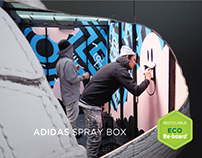 Adidas spray box