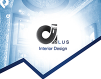 A+ Interior Design Logo and Concept