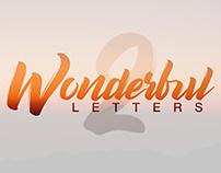 Wonderful Letters 2
