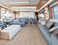 Nautical Interiors - Benetti Delfino
