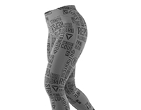 Reebok DELTA TRAINING LEGGING Graphics