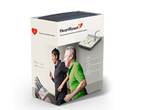 HeartReset Defibrillator Interface and Packaging design