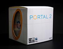 Portal 2 Video Game Packaging