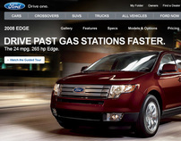 FordVehicles.com Vehicle Landing Pages