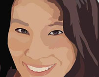 Lucy Liu Illustration