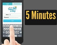 Active Network's Take 5 a day mobile app promo video
